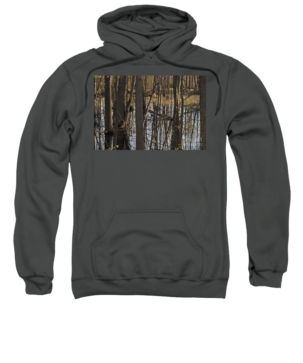Creek Sweatshirt featuring the photograph Wetland by Joseph Yarbrough
