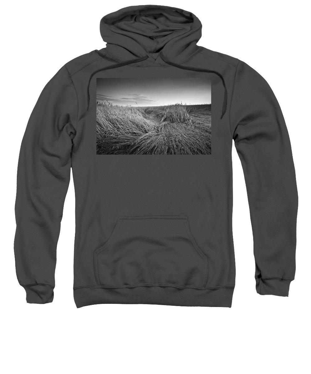 Slovakia Sweatshirt featuring the photograph Wheat Waves by Milan Gonda