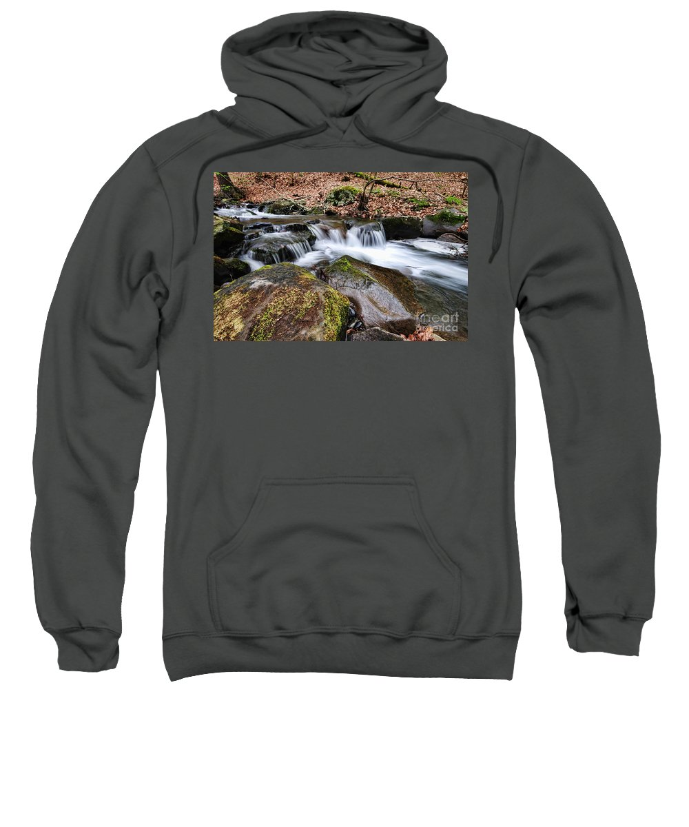 Paul Ward Sweatshirt featuring the photograph Where The River Flows by Paul Ward