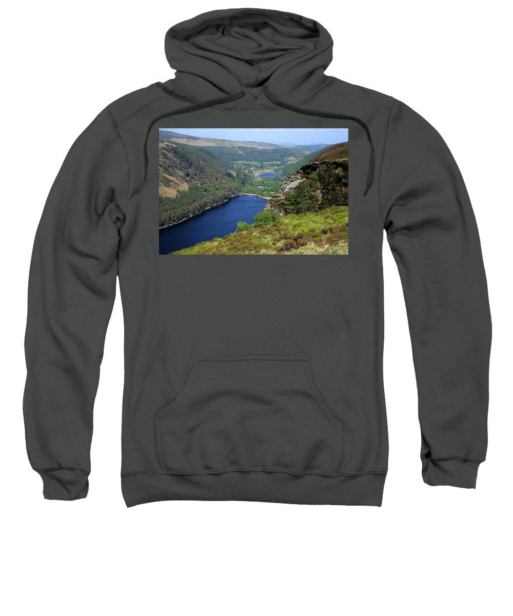 Ireland Sweatshirt featuring the photograph Wicklow Mountains by Aidan Moran