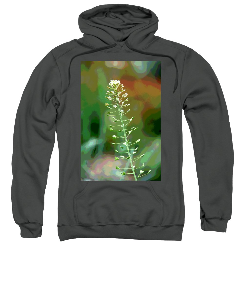 Weed Sweatshirt featuring the photograph Wild And Wonderful by Charlie Brock