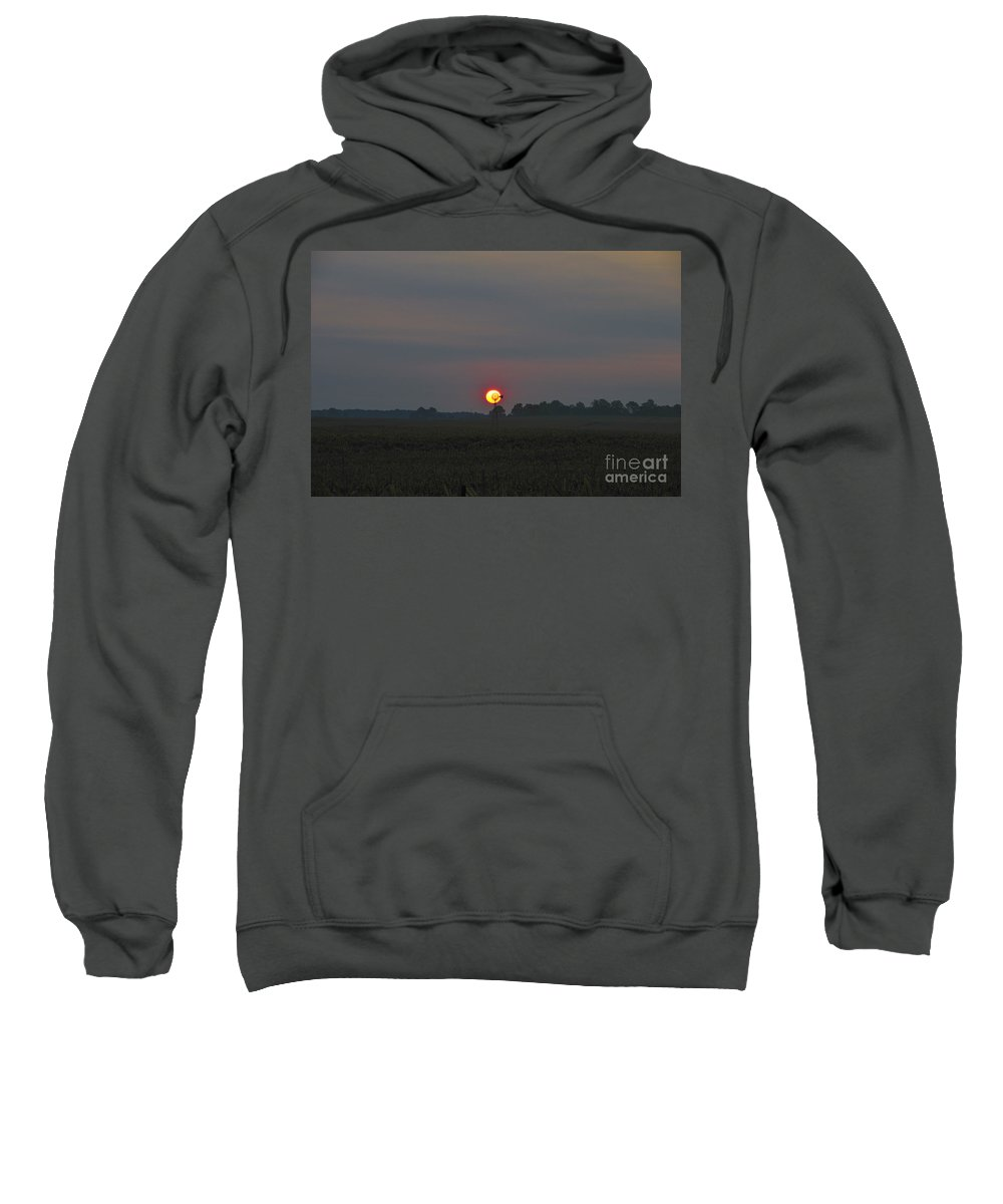 Windmill Sweatshirt featuring the photograph Windmill Of The Sun by David Arment