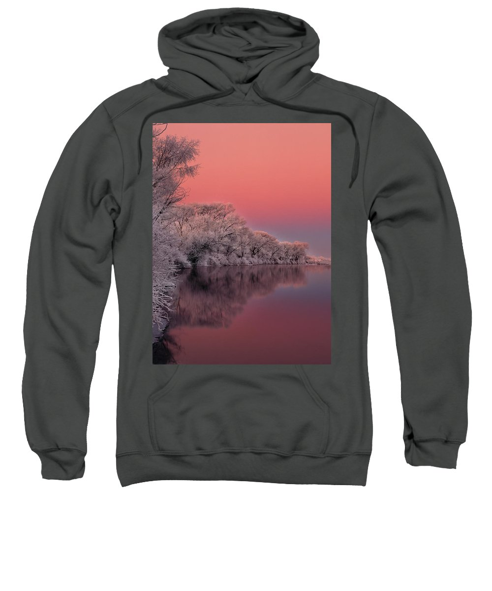 Idaho Sweatshirt featuring the photograph Winter Color by Leland D Howard