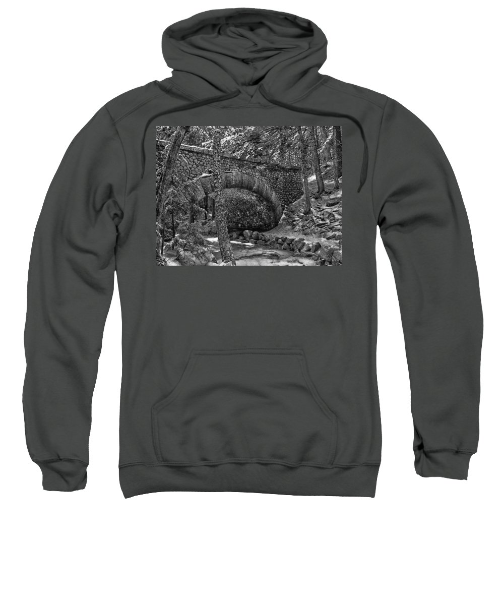 Maine Sweatshirt featuring the photograph Winter In Maine by Mountain Dreams