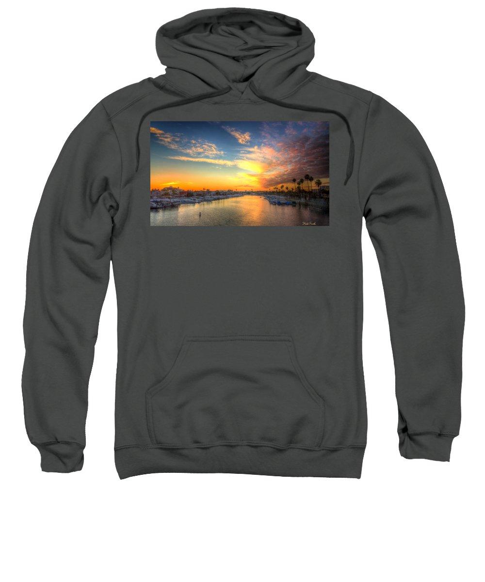 California Sweatshirt featuring the photograph Winter Sky by Heidi Smith