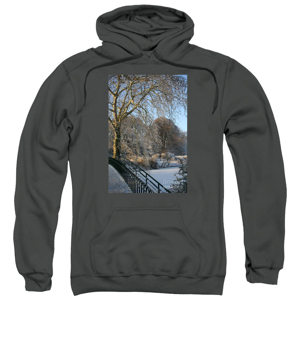 Snow Sweatshirt featuring the photograph Wintertime by Christiane Schulze Art And Photography