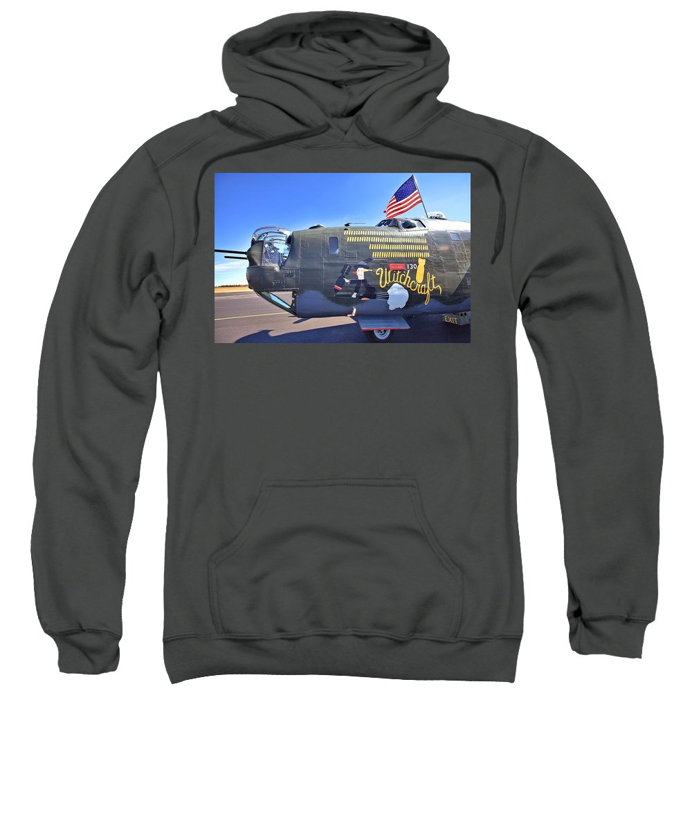 9210 Sweatshirt featuring the photograph Witchcraft by Gordon Elwell