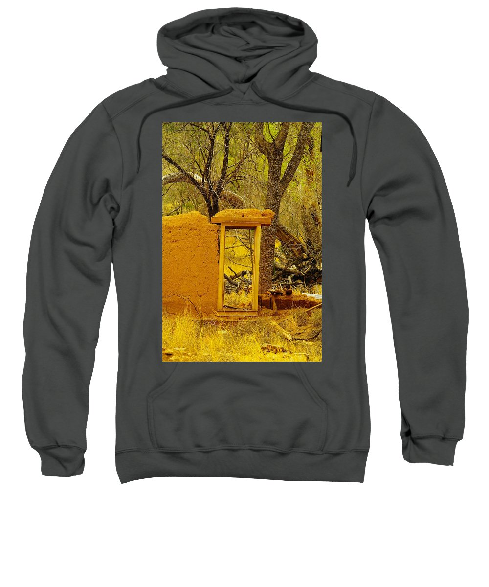Lincoln City Sweatshirt featuring the photograph Worn And Weathered by Jeff Swan