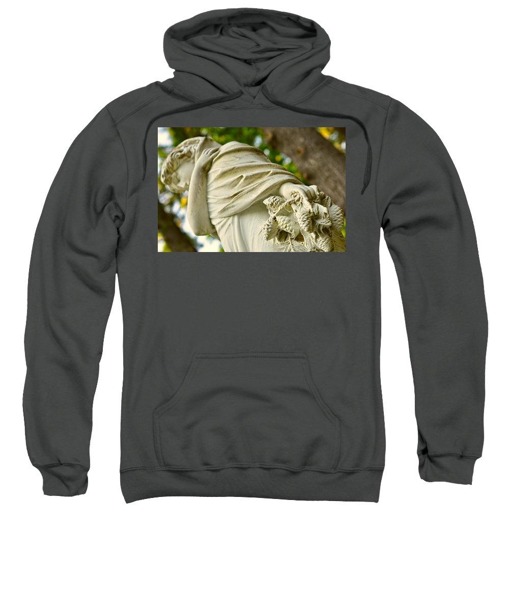 Landscape Sweatshirt featuring the photograph Yaddo Season 4 by Tina Baxter