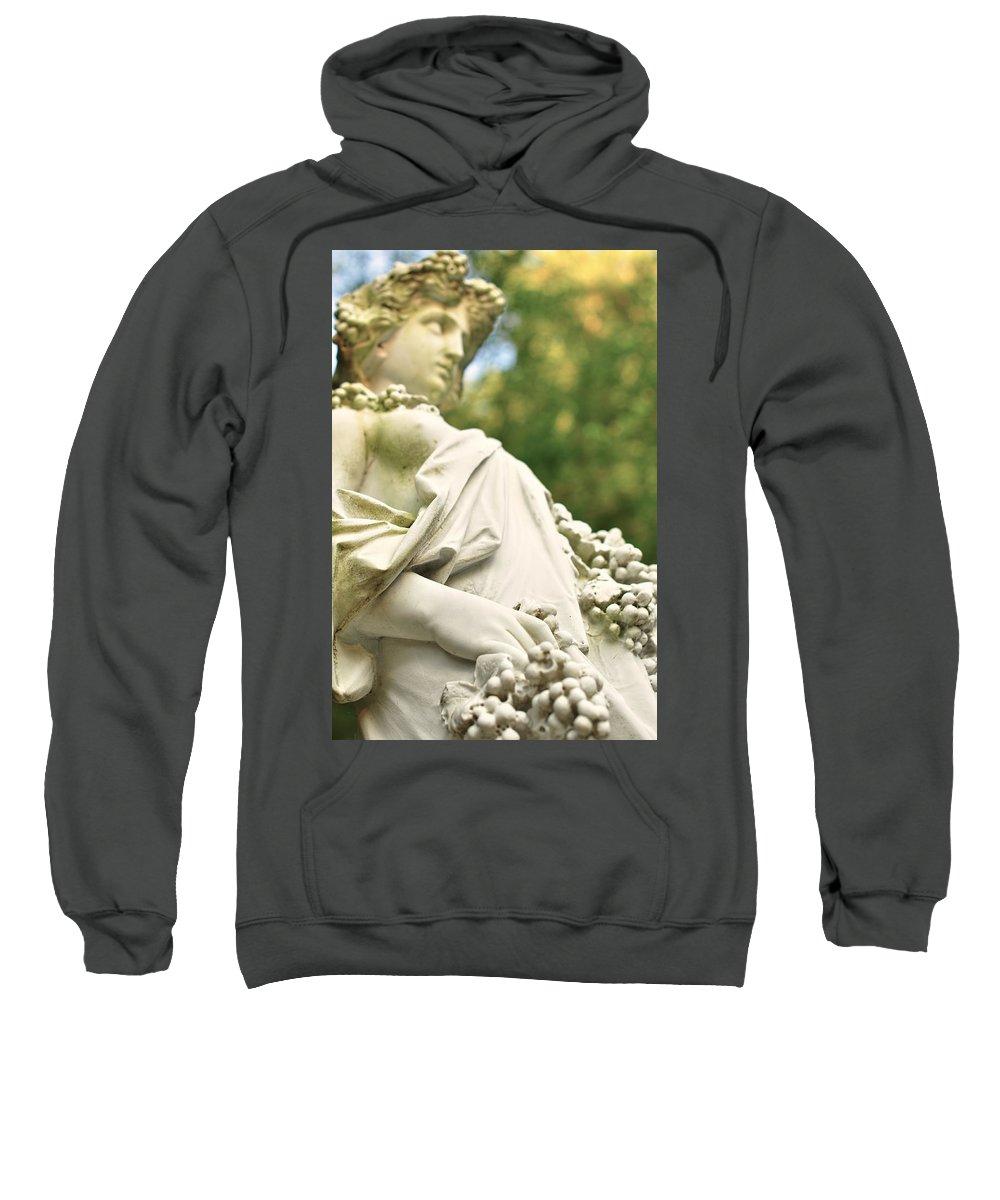 Landscape Sweatshirt featuring the photograph Yaddo Season 5 by Tina Baxter
