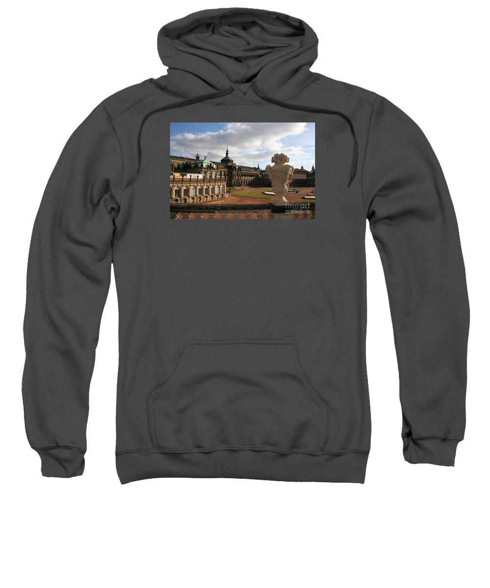 Zwinger Sweatshirt featuring the photograph Zwinger Dresden - Germany by Christiane Schulze Art And Photography
