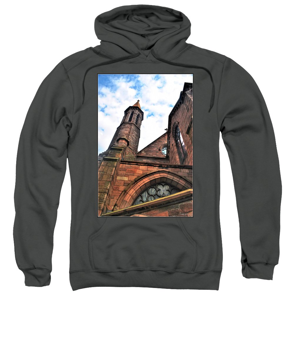 Sweatshirt featuring the photograph 003 St. Paul's Cathedral by Michael Frank Jr