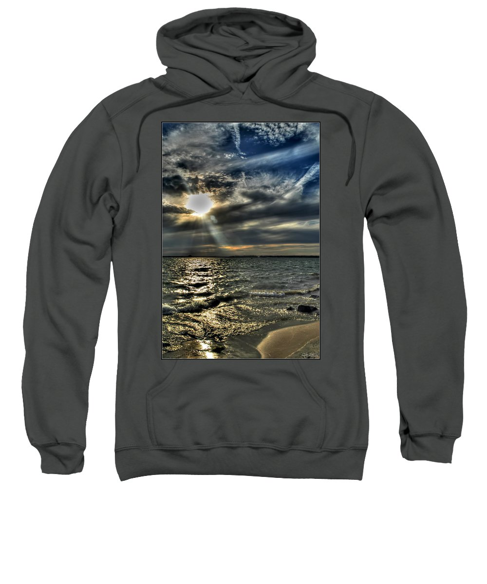 Sweatshirt featuring the photograph 005 In Harmony With Nature Series by Michael Frank Jr