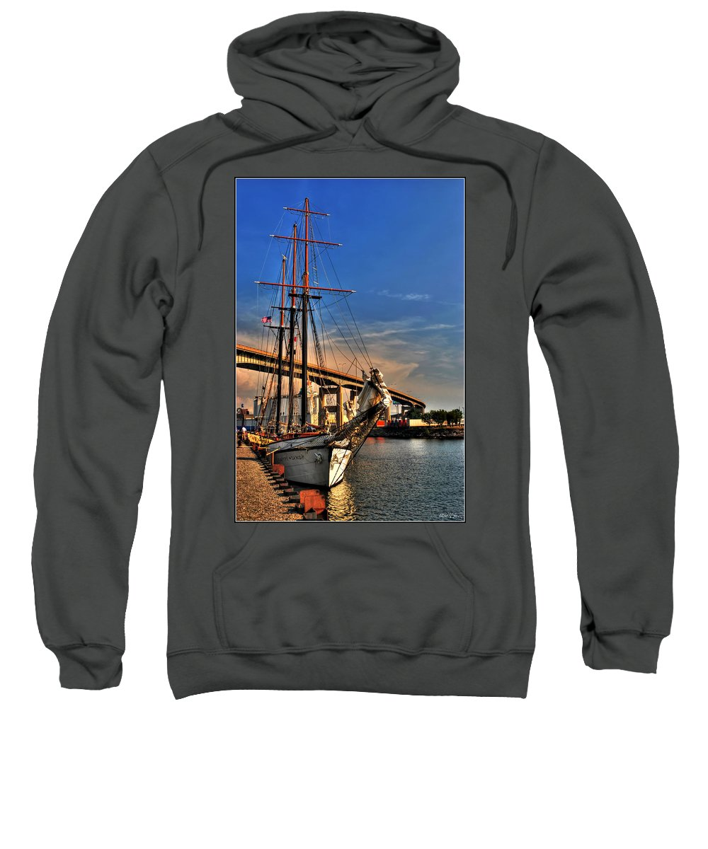 Sweatshirt featuring the photograph 028 Empire Sandy Series by Michael Frank Jr