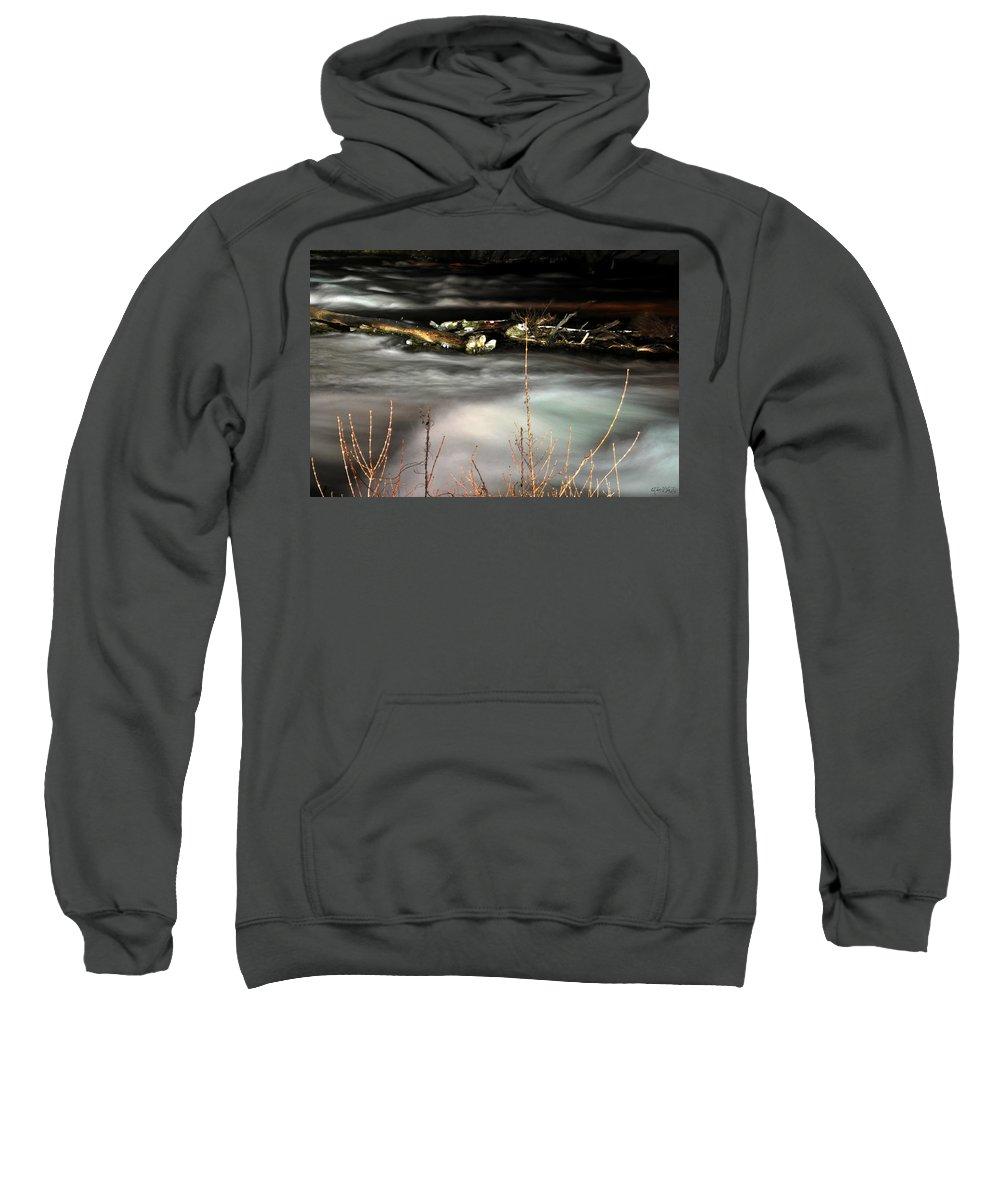 Sweatshirt featuring the photograph 05 Niagara Falls Usa Rapids Series by Michael Frank Jr
