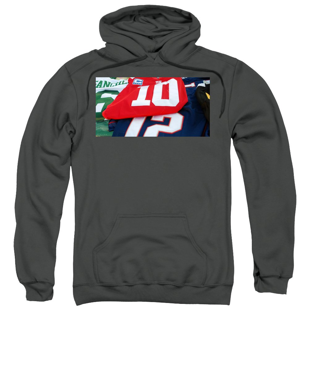 New York Giants Sweatshirt featuring the photograph 6 10 12 by Rob Hans