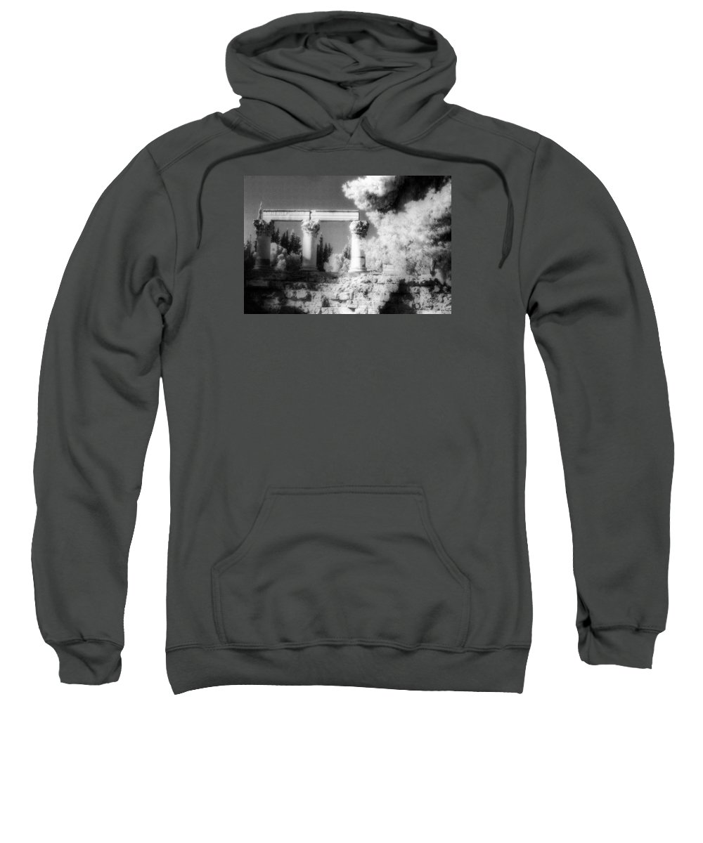 Ancient Corinth Sweatshirt featuring the photograph Ancient Corinth by Andonis Katanos