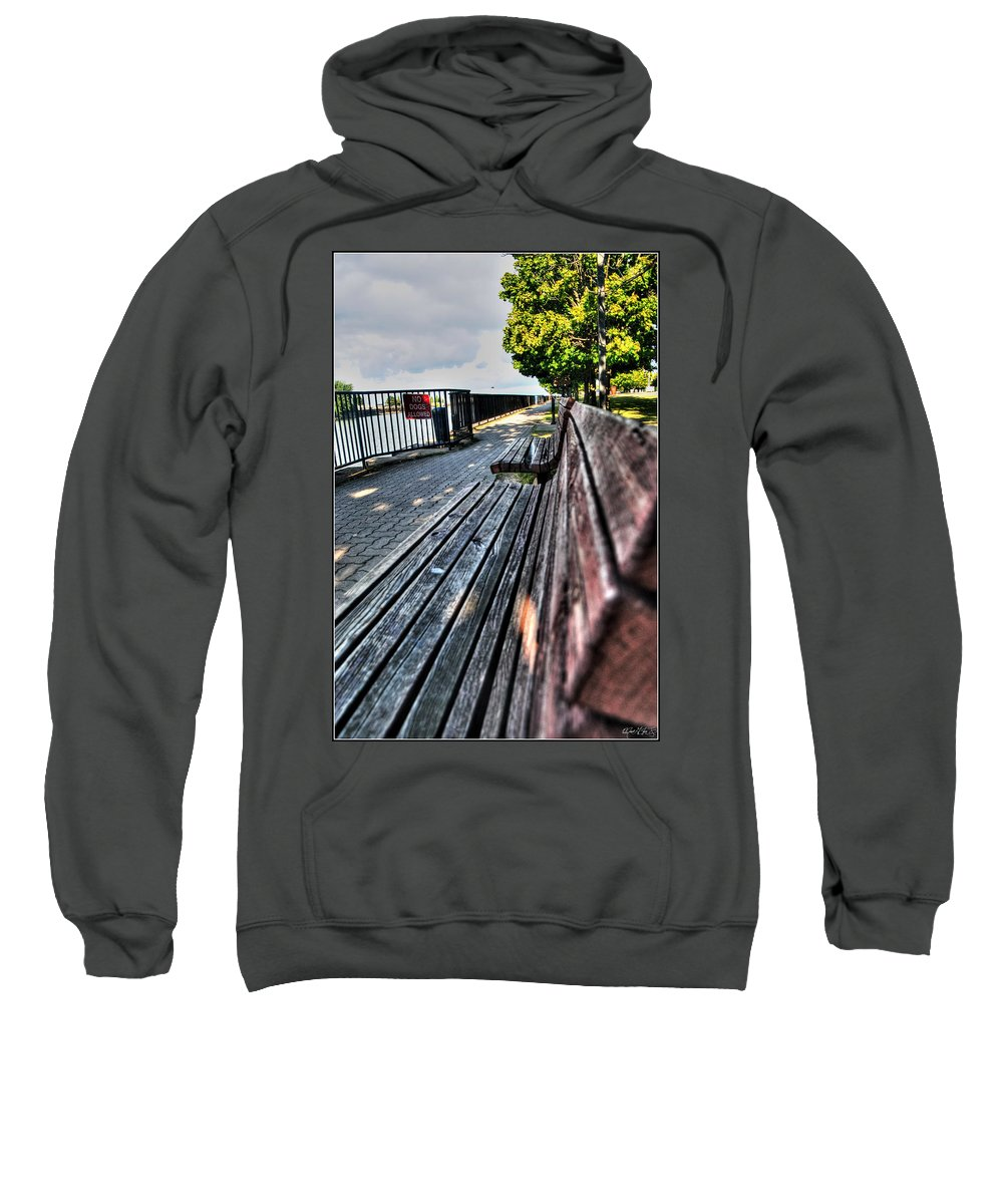 Sweatshirt featuring the photograph And Yet Still I Wait by Michael Frank Jr