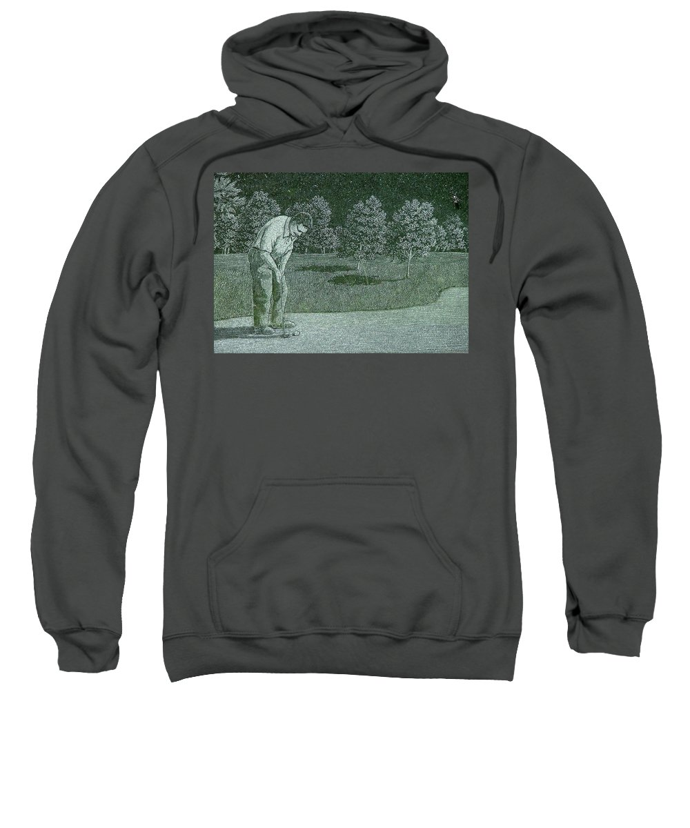 Ant Sweatshirt featuring the photograph Can You See Me by Dennis Pintoski
