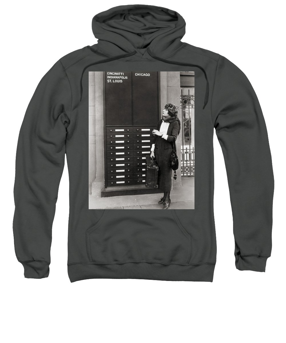 -transportation: Misc- Sweatshirt featuring the photograph Film: Transportation: Misc by Granger
