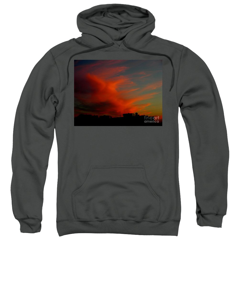 Sunsets Sweatshirt featuring the photograph June 29 2010 by Mark Gilman