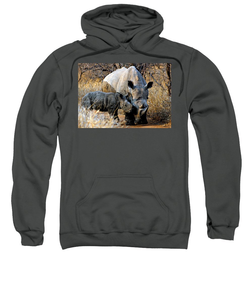 Africa Sweatshirt featuring the photograph Mother And Child by Paul Fell