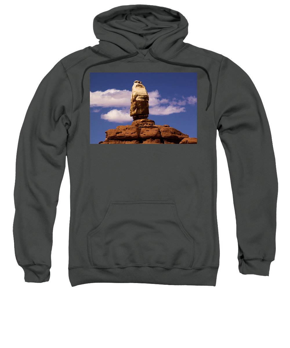 Canyonlands National Park Sweatshirt featuring the photograph Santa Clause At Canyonlands National Park by Adam Jewell