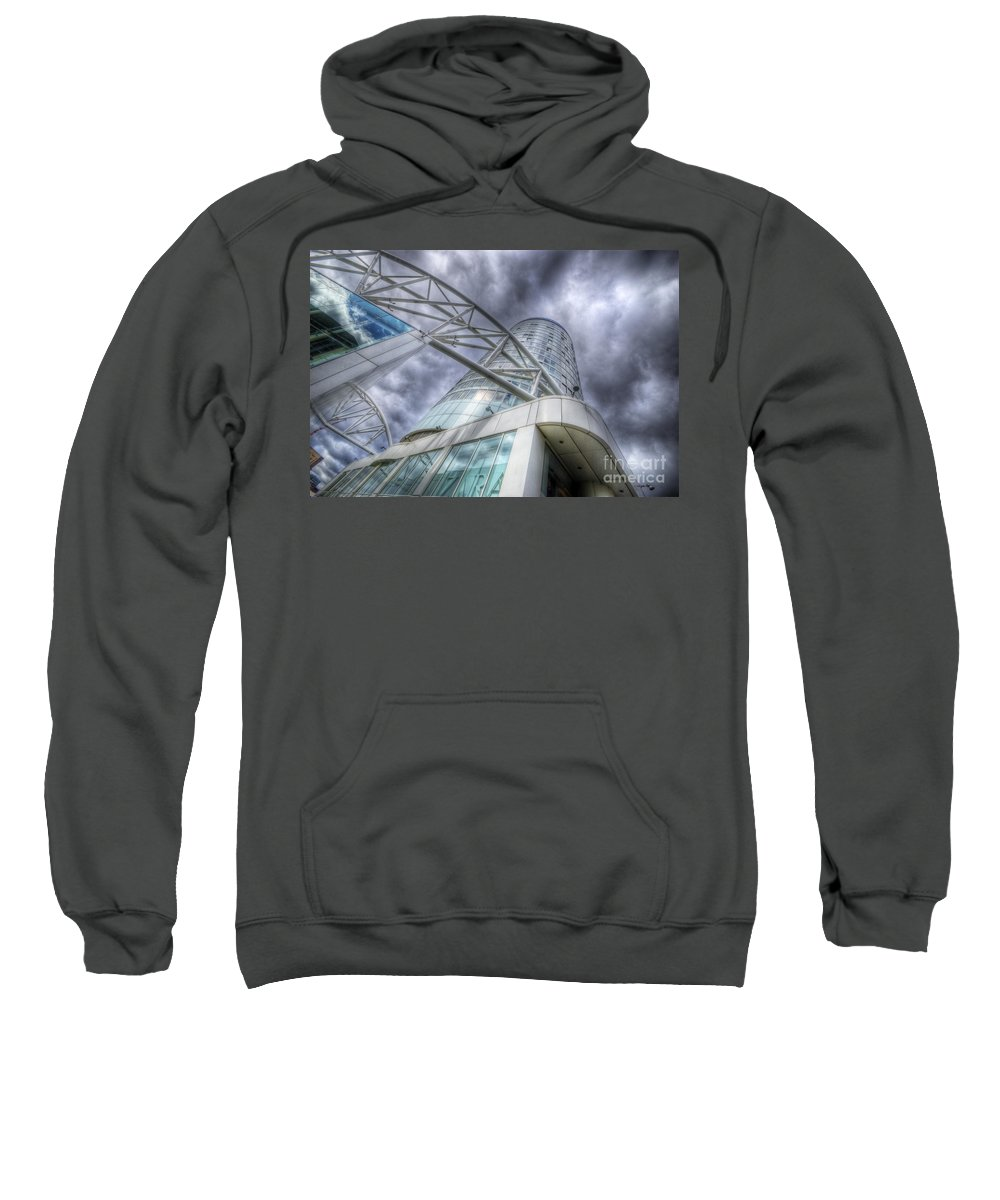 Art Sweatshirt featuring the photograph Sky Is The Limit 3.0 by Yhun Suarez