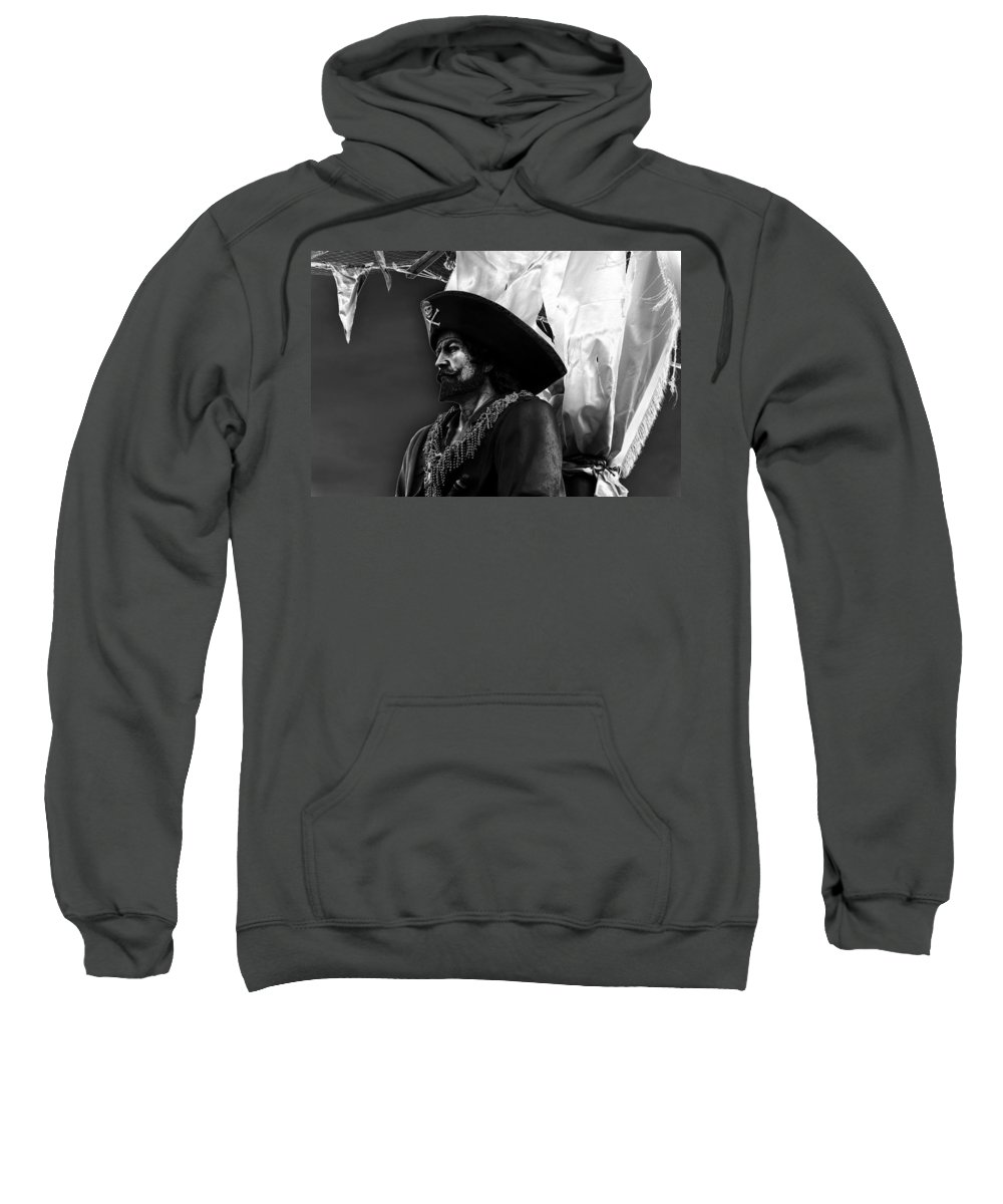 Fine Art Photography Sweatshirt featuring the photograph The Buccaneer by David Lee Thompson