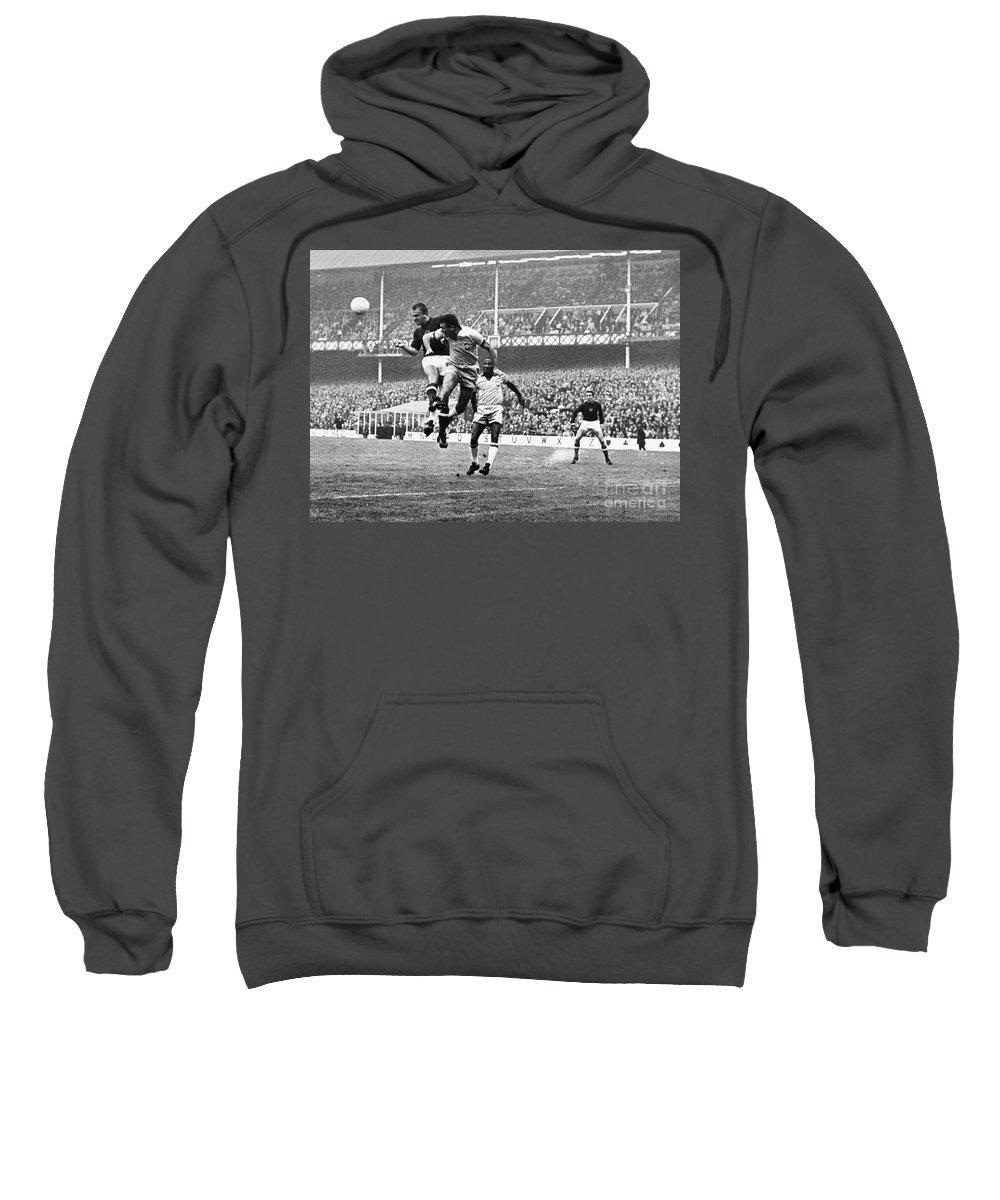 1966 Sweatshirt featuring the photograph World Cup, 1966 by Granger