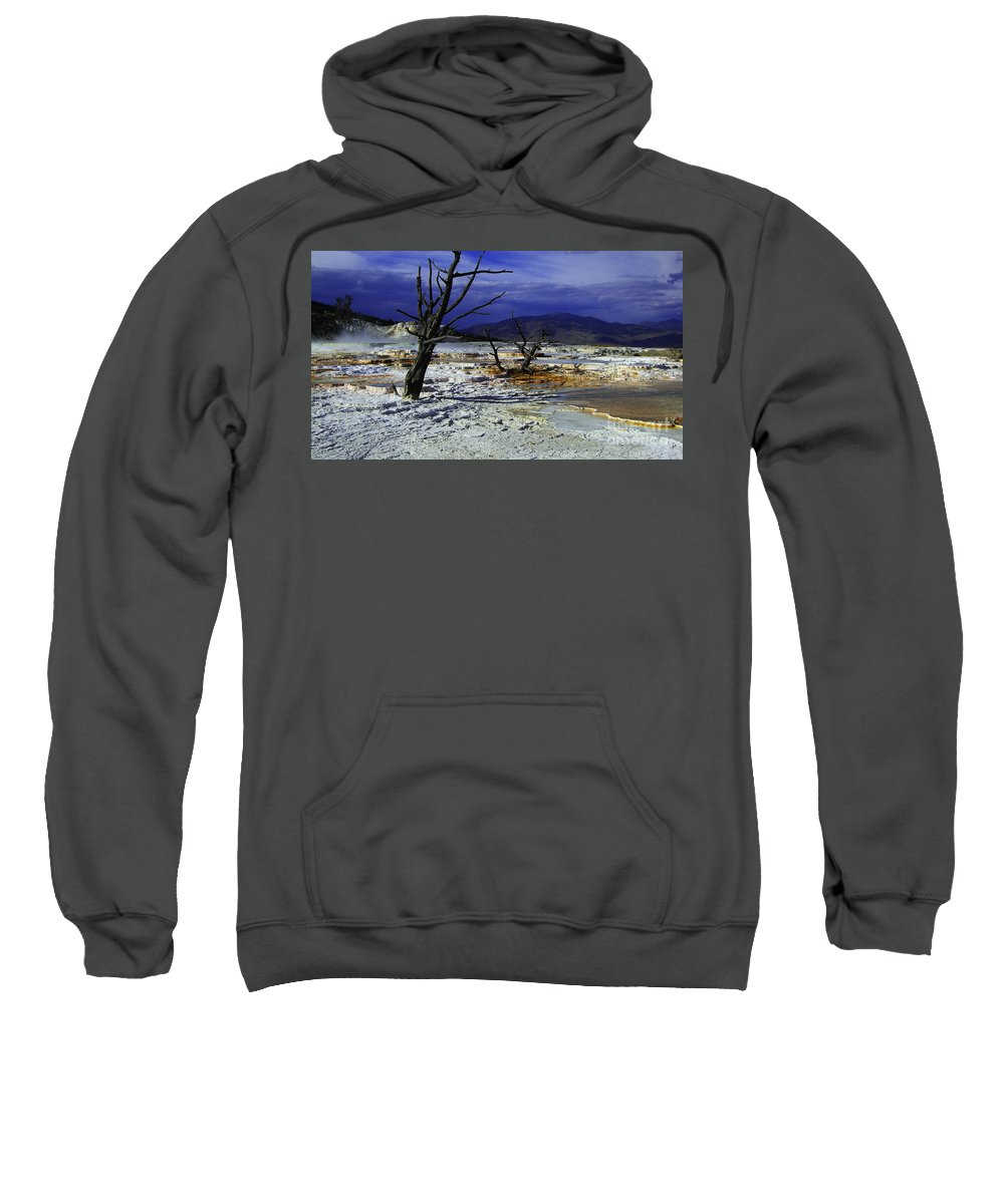 Yellowstone National Park Sweatshirt featuring the photograph Yellowstone National Park 6 by Xueling Zou