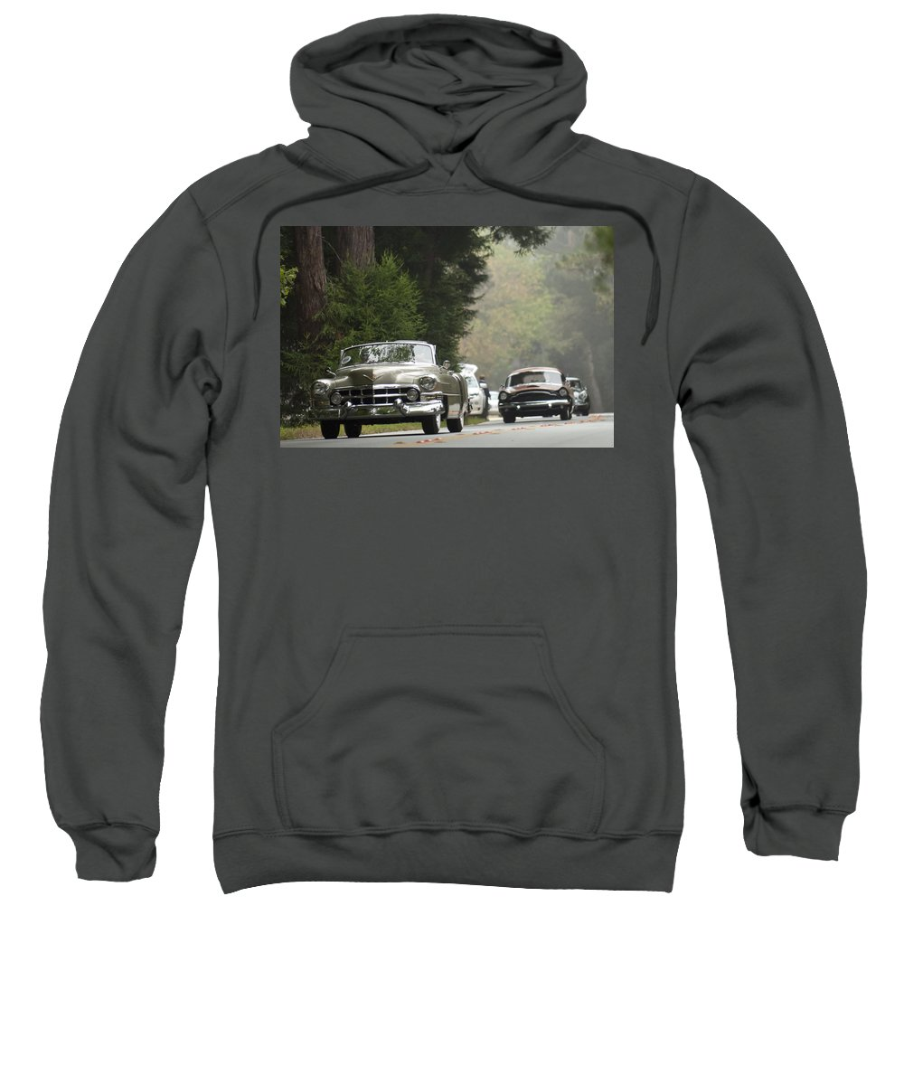 1952 Cadillac Special Roadster Sweatshirt featuring the photograph 1952 Cadillac Special Roadster by Jill Reger