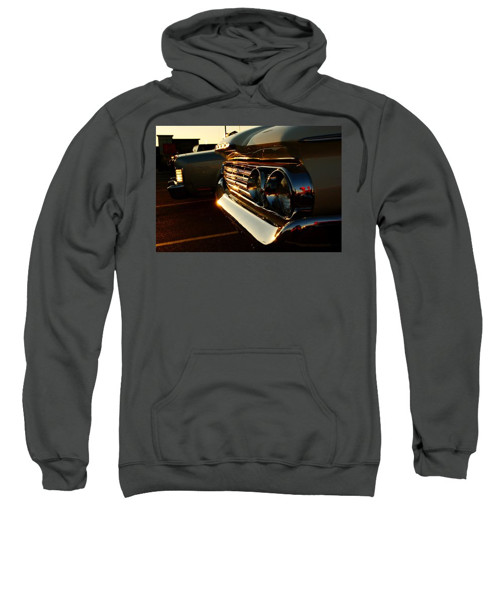 Classic Car Sweatshirt featuring the photograph 1960's Mercury by Cale Best