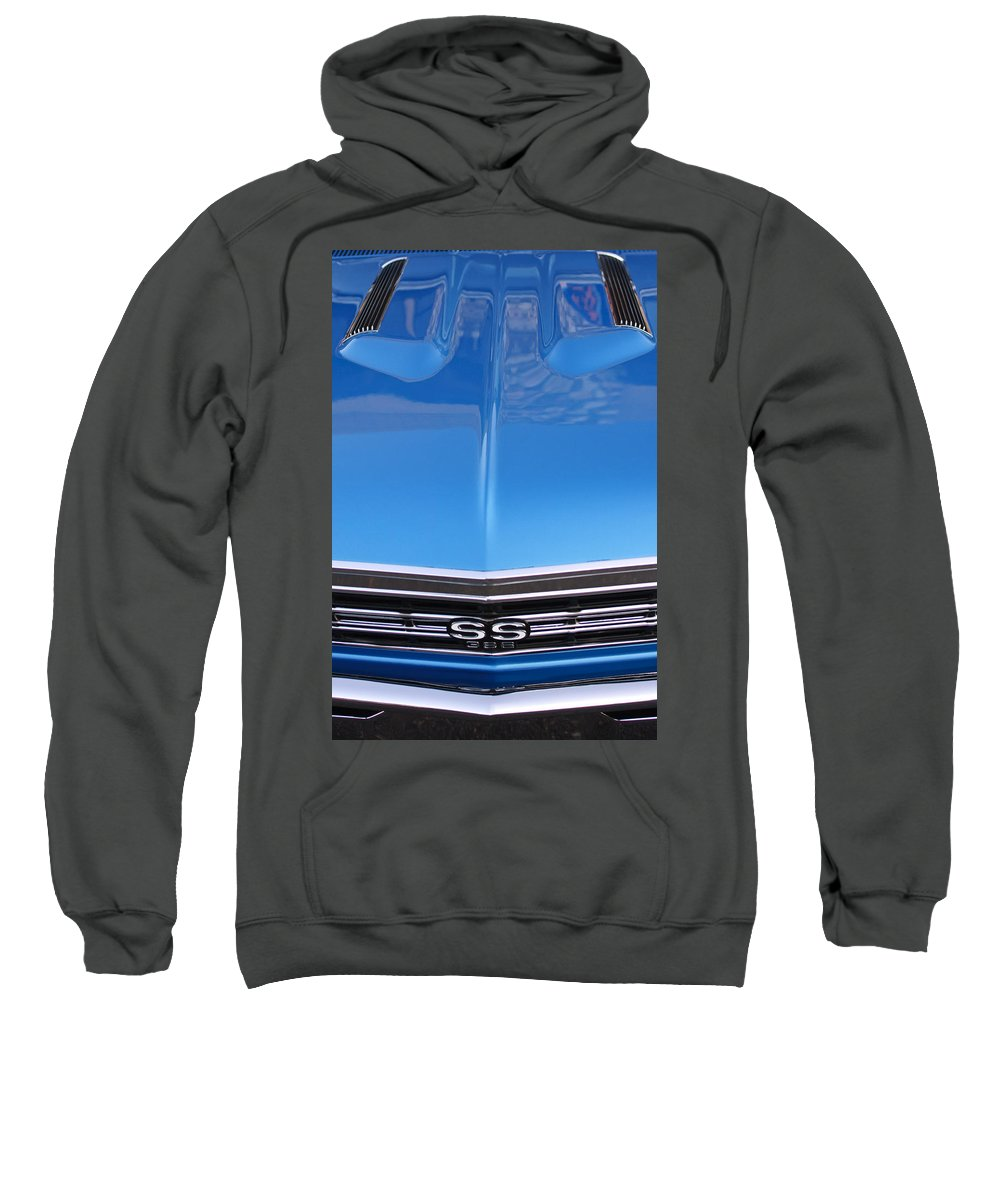 1967 Chevrolet Chevelle Super Sport Sweatshirt featuring the photograph 1967 Chevrolet Chevelle Super Sport by Jill Reger