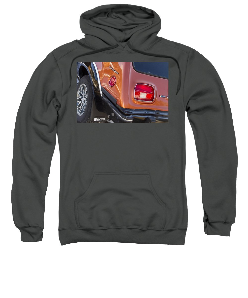 1983 Sweatshirt featuring the photograph 1983 Amc Eagle 4 Wheel Drive by James BO Insogna