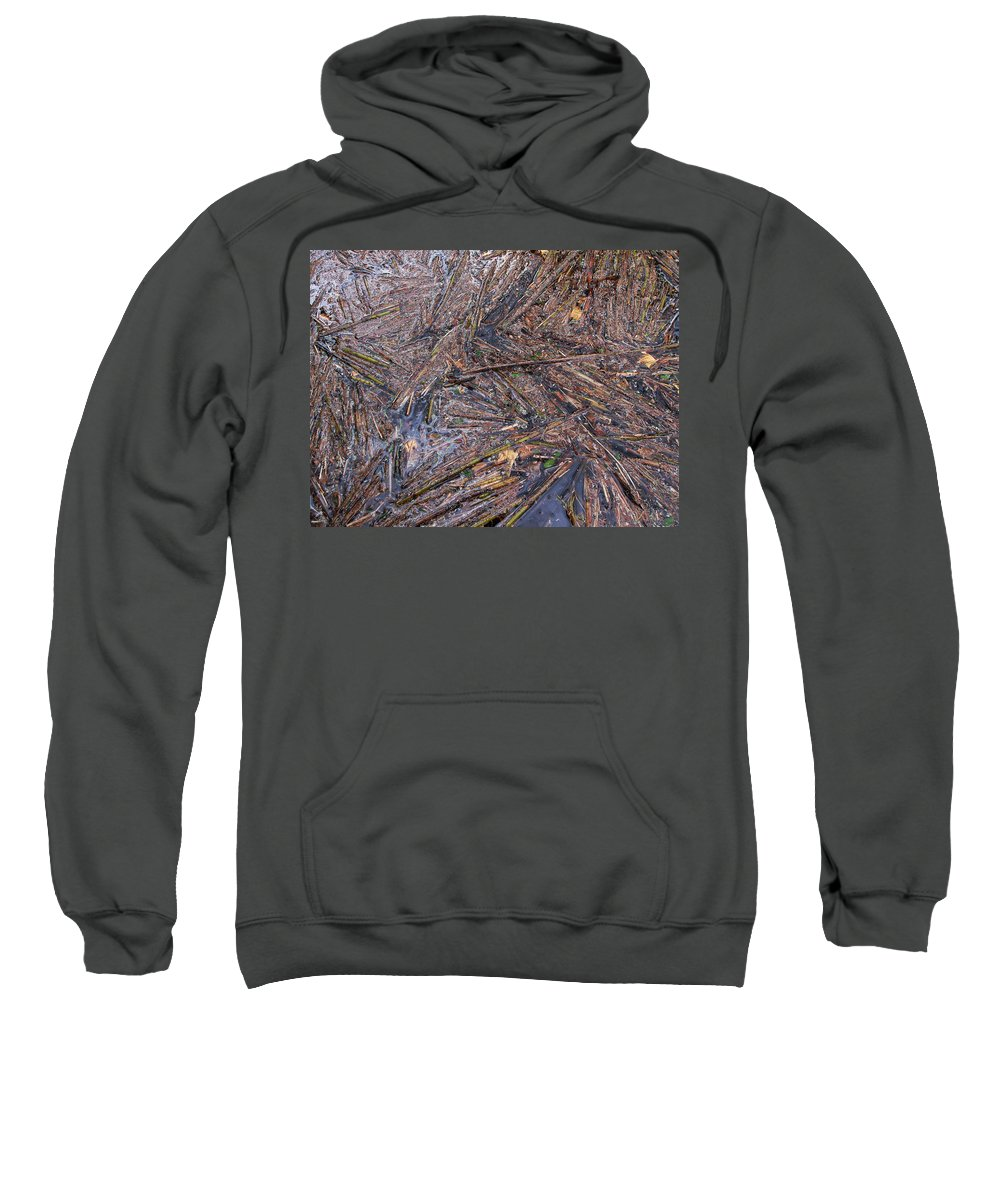 Lehtokukka Sweatshirt featuring the photograph Abstract Flood by Jouko Lehto
