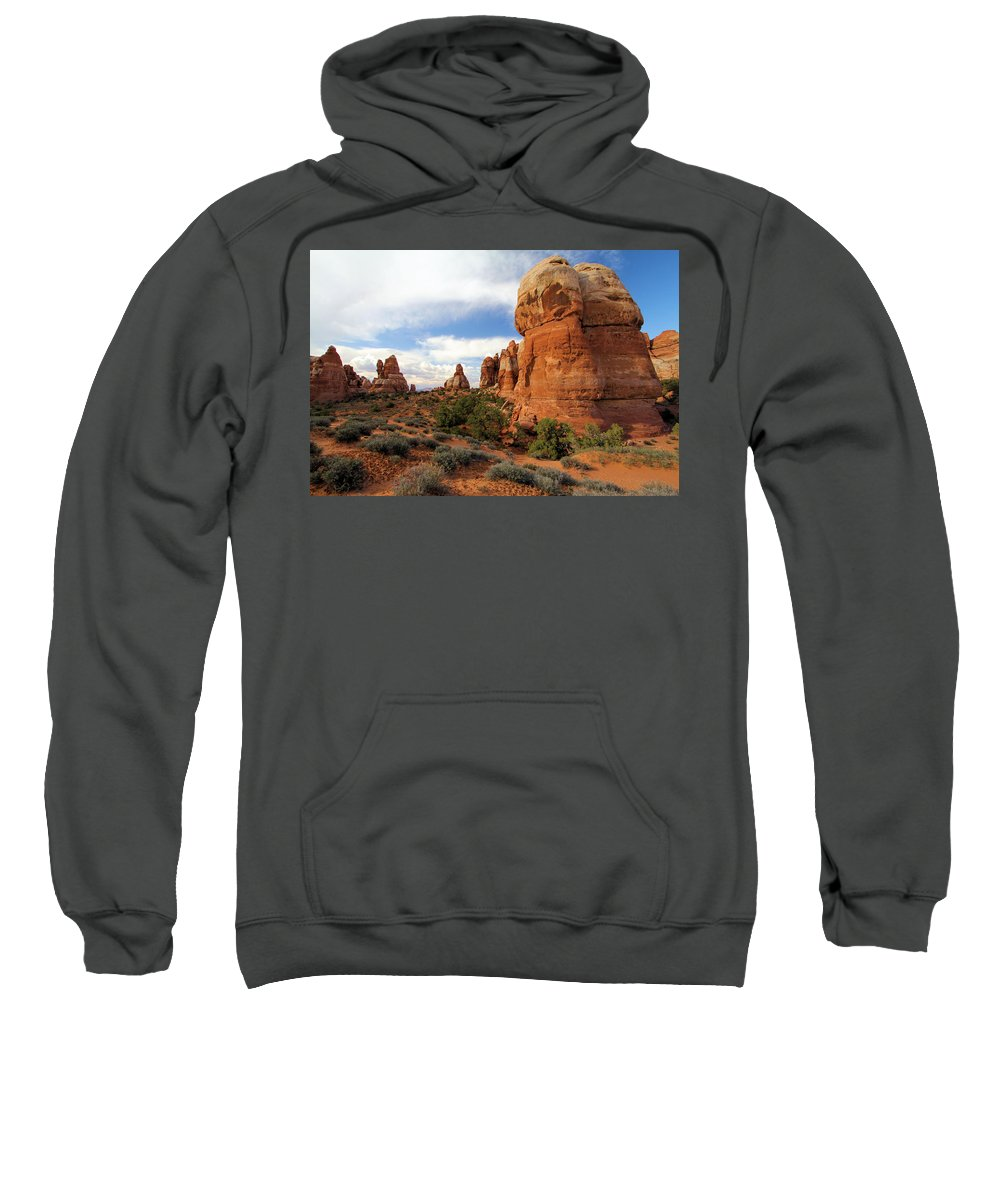Chesler Park Sweatshirt featuring the photograph Chesler Park by Adam Jewell