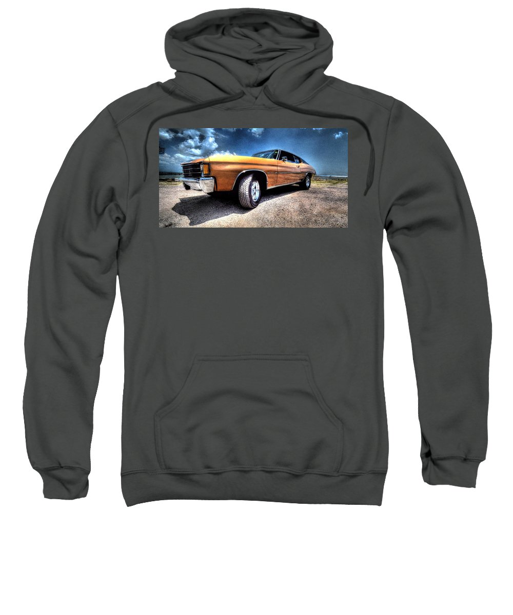 1972 Chevrolet Chevelle Sweatshirt featuring the photograph 1972 Chevelle by David Morefield