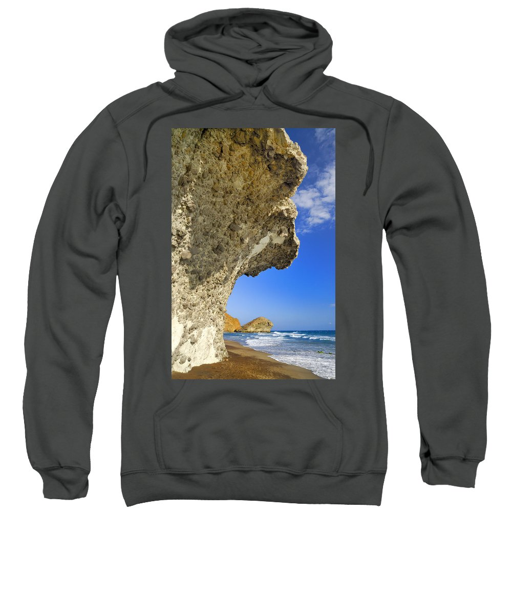 Sunset Sweatshirt featuring the photograph Monsul by Guido Montanes Castillo