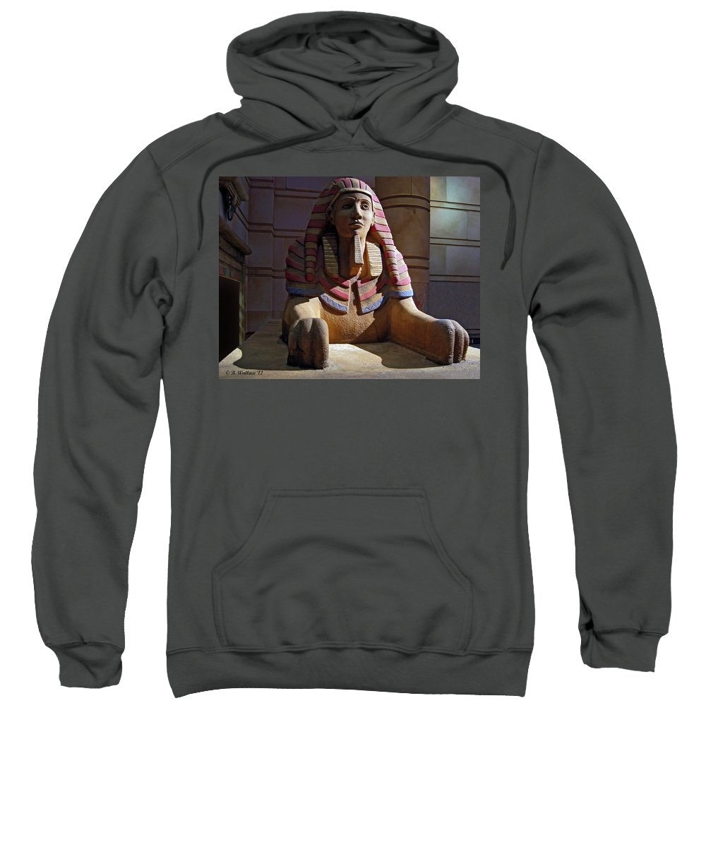 2d Sweatshirt featuring the photograph Sphinx by Brian Wallace