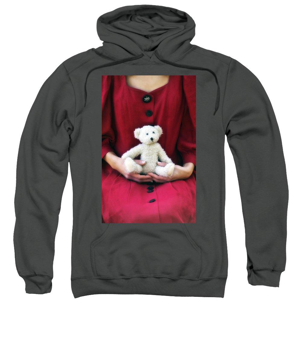 Woman Sweatshirt featuring the photograph Teddy Bear by Joana Kruse