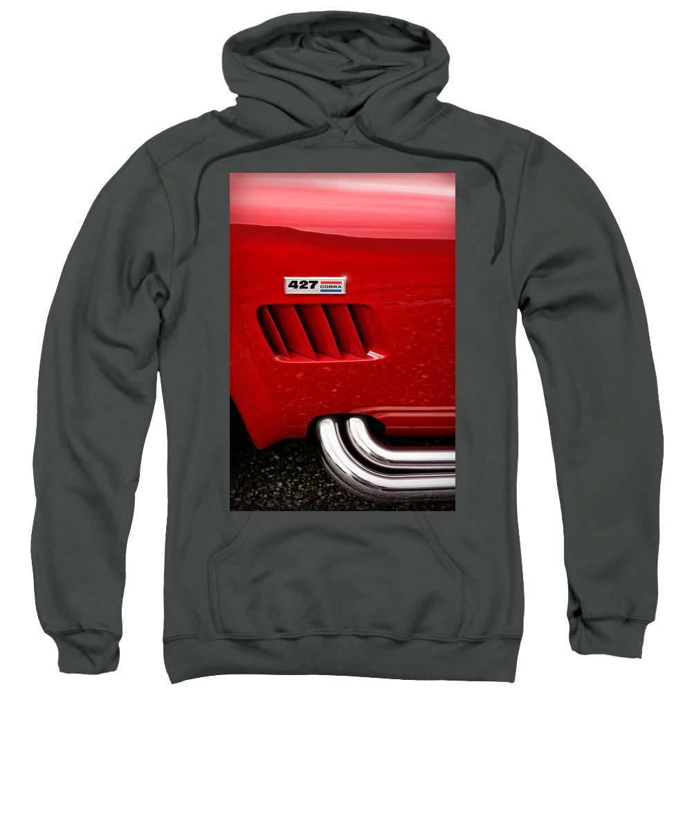 Ac Sweatshirt featuring the photograph 427 Ford Cobra by Gordon Dean II