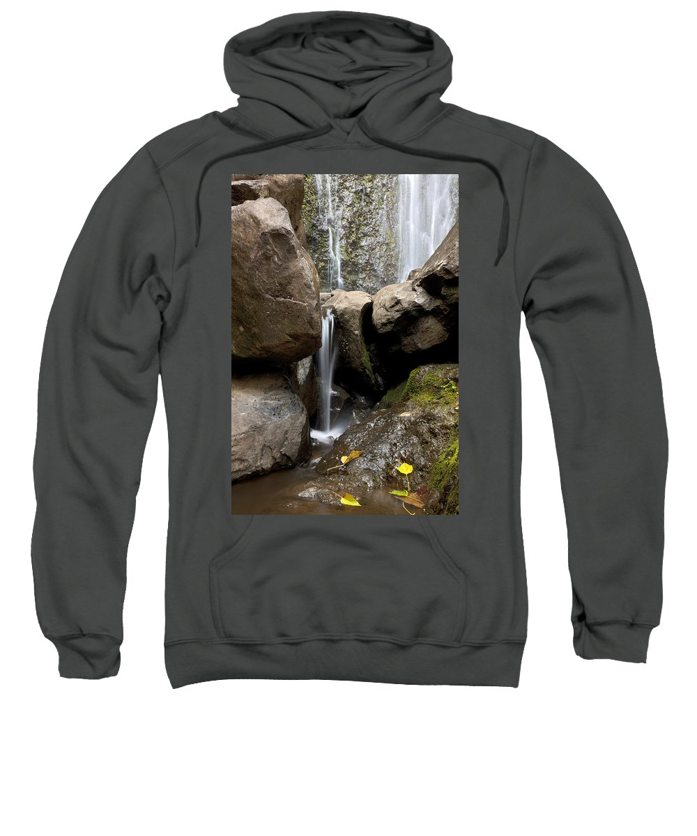 Beautiful Sweatshirt featuring the photograph Wailua Falls by Jenna Szerlag