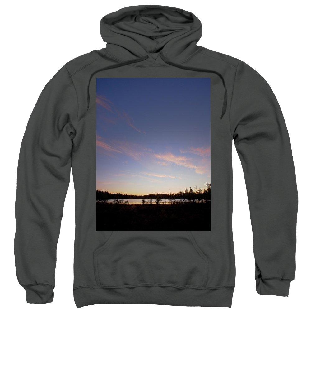 Lehtokukka Sweatshirt featuring the photograph Fall At Saari-soljanen by Jouko Lehto