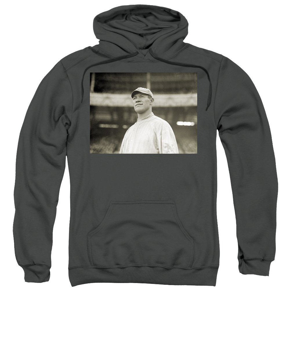 1913 Sweatshirt featuring the photograph Jim Thorpe (1888-1953) by Granger