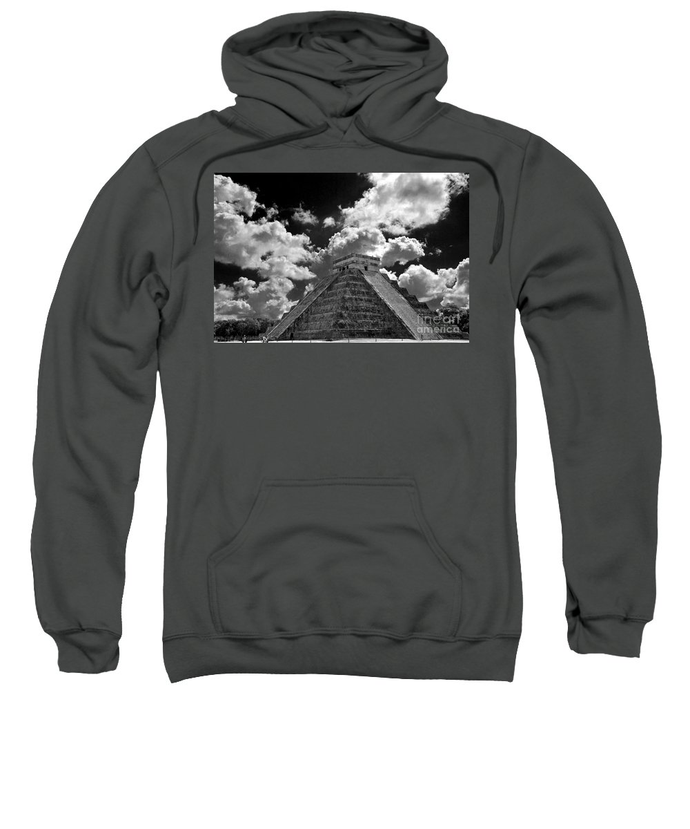 Pyramid Sweatshirt featuring the photograph A Way To The Top by Ken Frischkorn