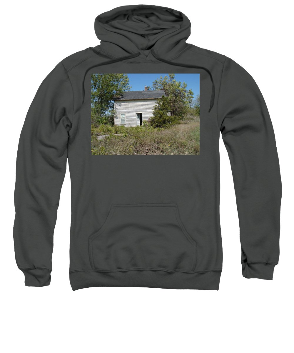 Abandoned Sweatshirt featuring the photograph Abandoned by Bonfire Photography