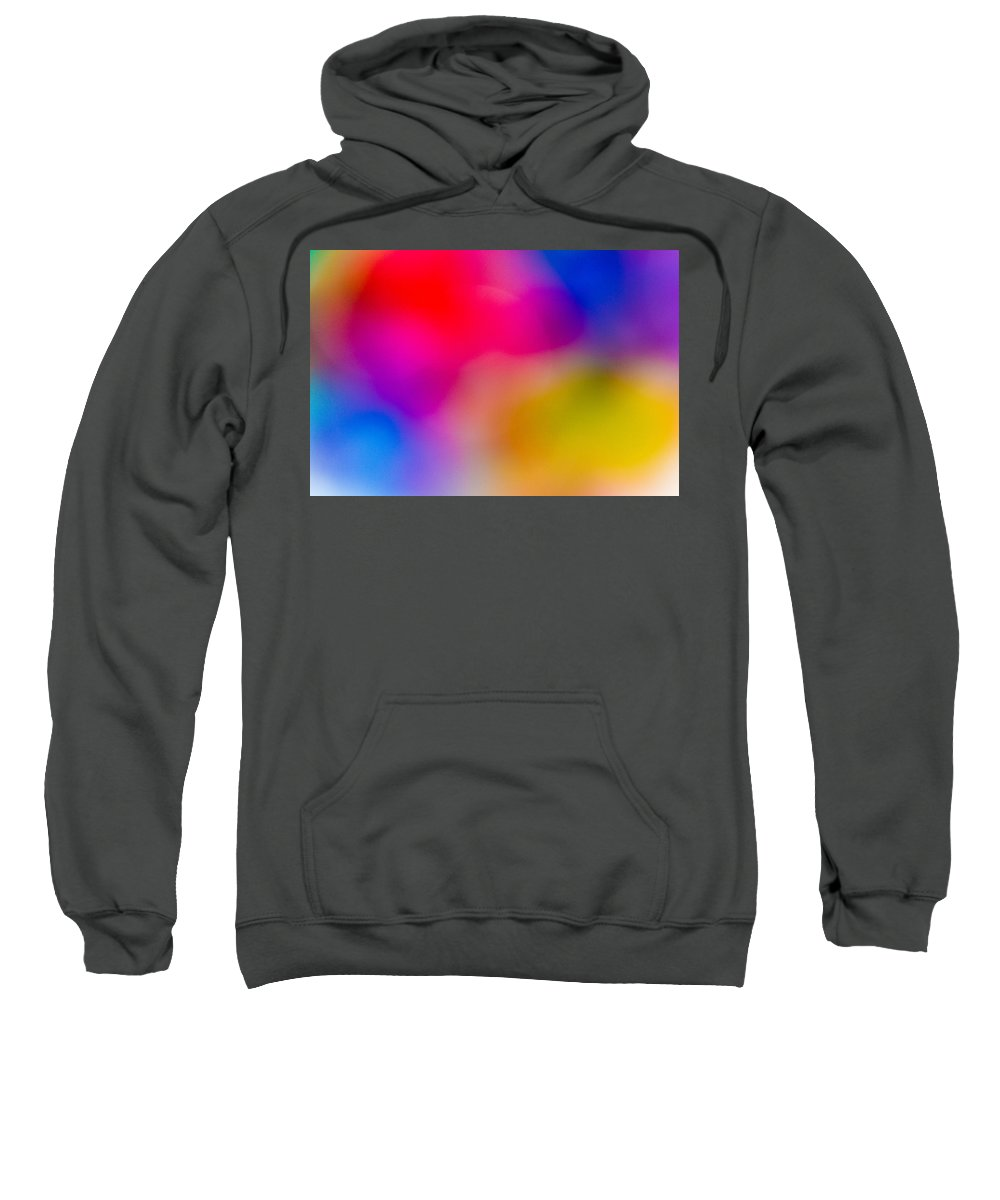 Colour Sweatshirt featuring the digital art Abstract Focus Art by David Pyatt