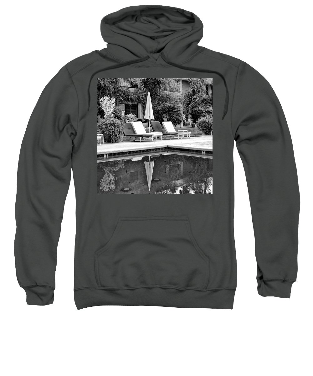 Sweatshirt featuring the photograph After The Wind by William Dey