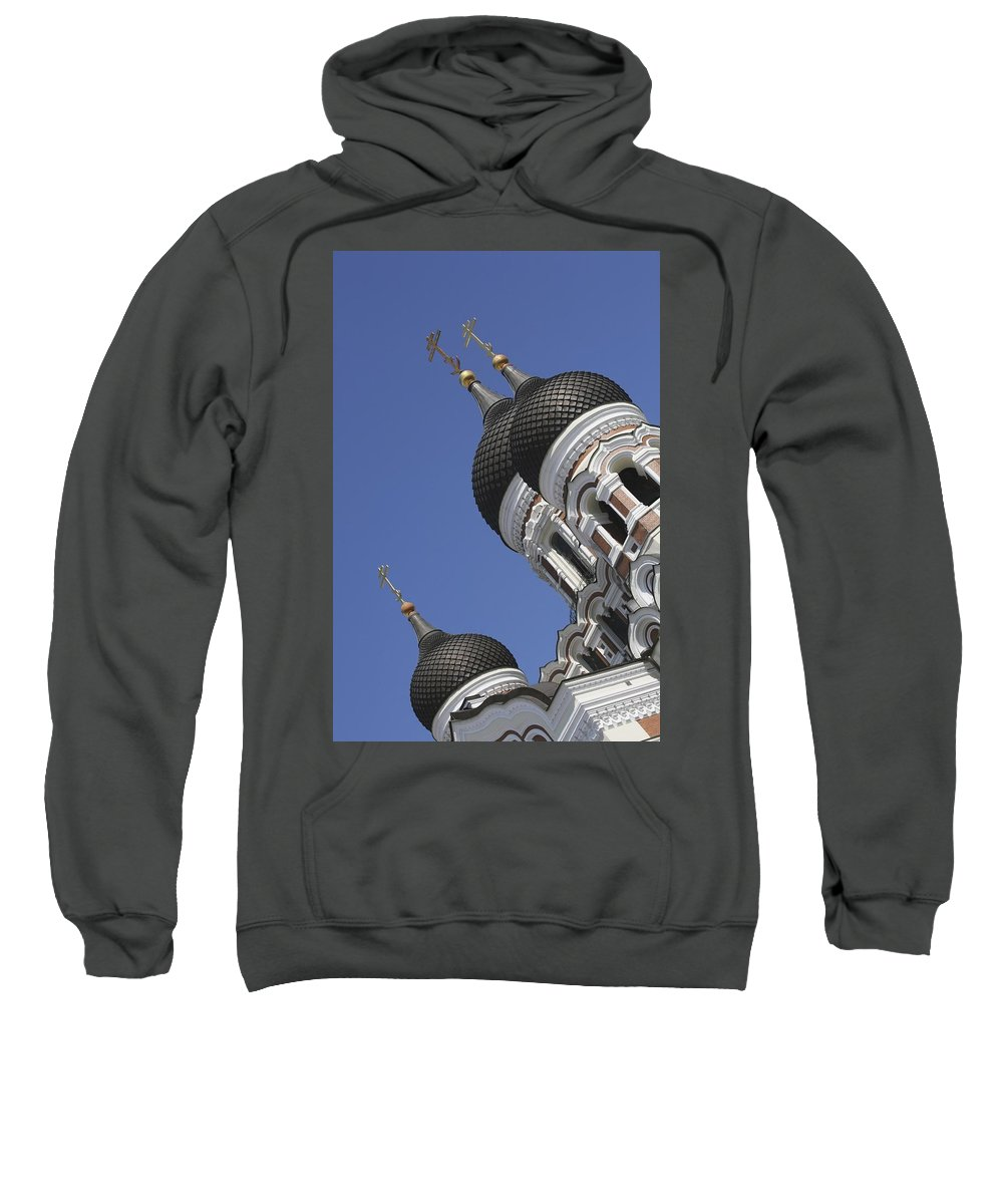 Photography Sweatshirt featuring the photograph Alexander Nevsky Cathedral by Axiom Photographic